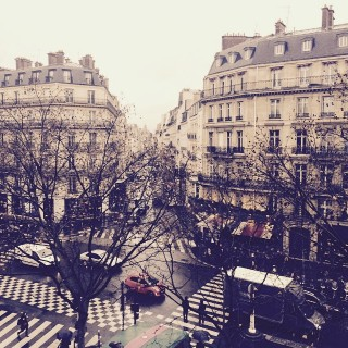 view from pur apatment in st germain des pres