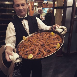 paella at enrique bacerra