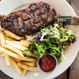 food - landmarc - steak2